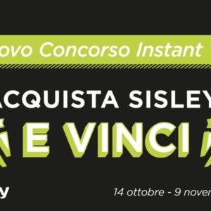 """Concorso a premi """"Acquista Sisley e vinci!"""""""